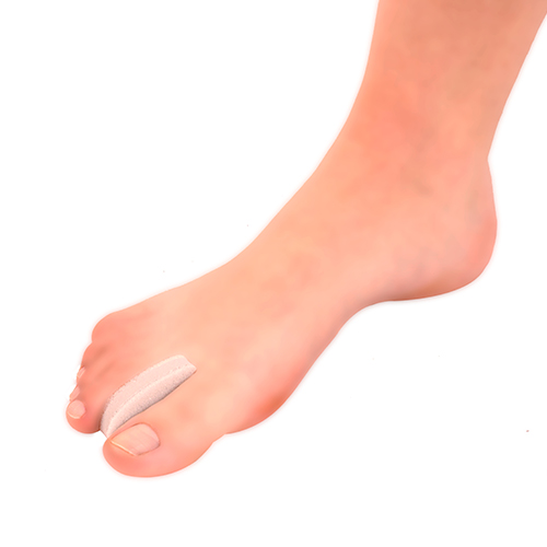 Separador dedo espuma