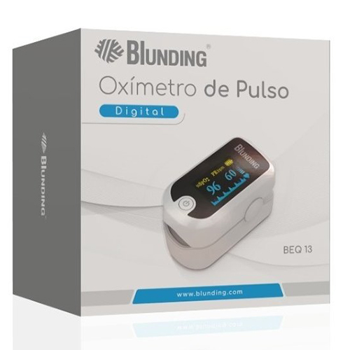 oximetro de pulso digital beq-13