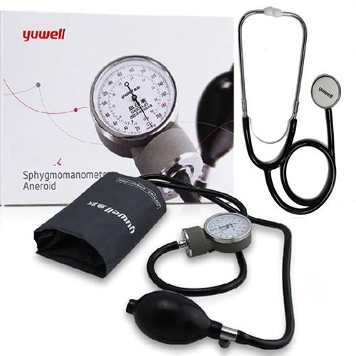 Esfigmomanometro Aneroide Yuwell con Fonendoscopio